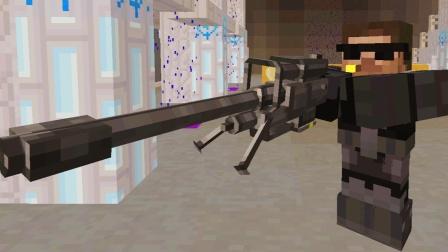 我的世界 科幻战争大海特种兵战机甲士兵