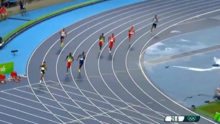 田径400米比赛这样冲刺跑!范尼凯克打破尘封17年世界纪录!
