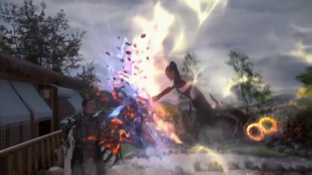 哪吒降妖记:乾坤圈归位,哪吒和小龙女大战妖族,场面太激烈!