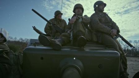 二战末期美国大兵对抗德国出动虎式坦克,德国一发火箭弹搞定