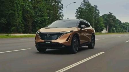 日产全新纯电动轿跑SUV Ariya量产版展示视频