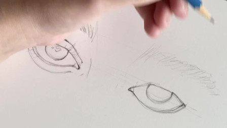 5分钟超细节画眼睛教程