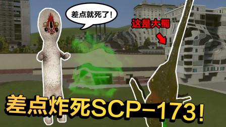 找到可以击杀SCP-173的武器了,威力太大连67号都炸飞了!