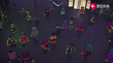 乐高幻影忍者系列儿童动画片-偷渡者