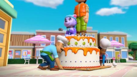 汪汪队立大功:超级杰克蛋糕,惊呆众人