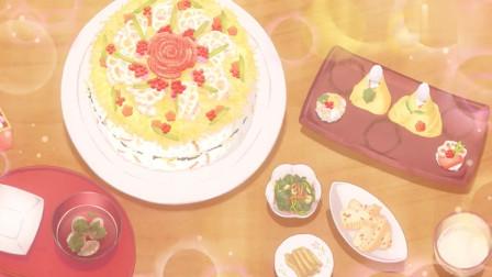 卫宫家今天的饭:士郎准备好寿司蛋糕,为让伊莉雅鲸喜,努力加入萌妹阵营