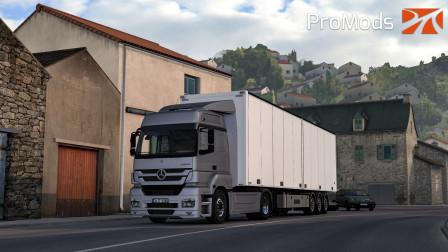 欧洲卡车模拟2 #337:穿过比利牛斯山脉 到达终点法国波城 | Euro Truck Simulator 2