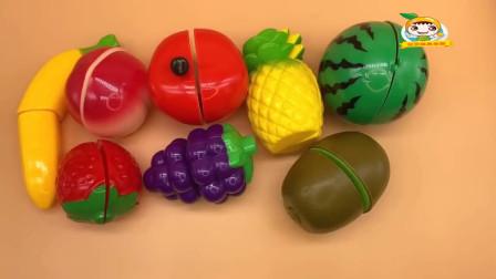 水果切切乐  学习和认识数字、各种水果的名字