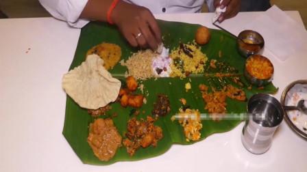 印度大餐,看的让人直流口水,好像尝尝看!