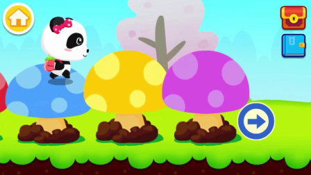 跟随采蘑菇的妙妙一起去冒险吧~宝宝巴士游戏