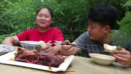 260买6斤驴肉,胖妹做五香酱驴肉,咬一口唇齿留香,老公吃过瘾了。