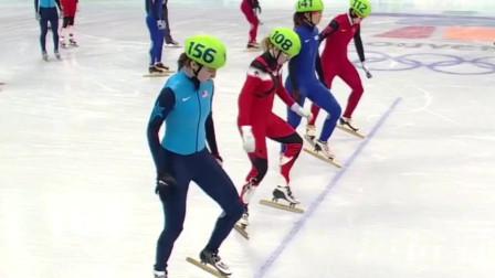 2010年温哥华冬奥会短道速滑女子3000米接力,中国队速度与力量完美的结合,最后夺得冠军!