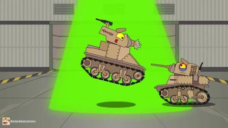 坦克世界:失眠的小坦克脑洞大开想出了个好办法