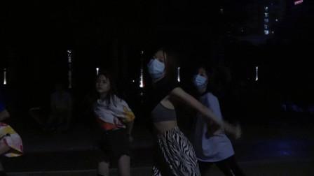 上思山谷舞蹈爵士舞--黑夜精灵版