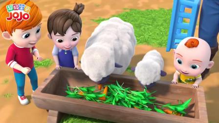 超级宝贝:绵绵羊喜欢吃胡萝卜