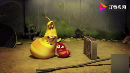 爆笑虫子:布丁这么不易消化吗?虫子吃了就发胖,吐出来恢复原状