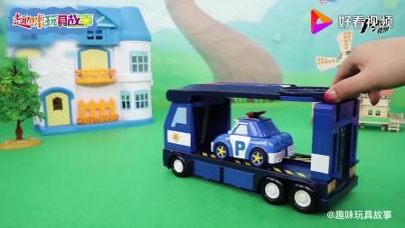 妙妙咖啡屋开业,森贝儿家族以及变形警车珀利都来光顾,玩具故事(1)