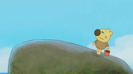 我们的朋友熊小米:鲸鱼大哭起来,小米虽然腿抖,但还是留下来了