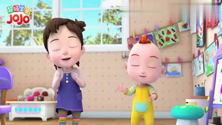 超级宝贝:今天玩的游戏,名字叫反义词,特别需要大脑哦!
