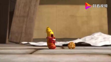 爆笑虫子:虫虫们抢夺小黄的自制饼干,都吃了都中毒了