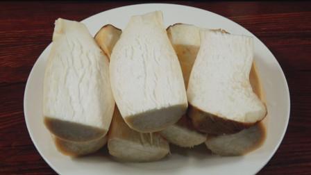 杏鲍菇简单又好吃的做法,不炒不油炸,上桌1大盘都不够吃