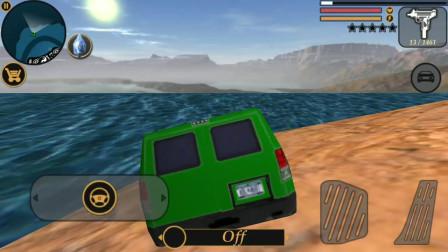 都市模拟2:小鼠把汽车开到海里会被海水吞噬消失吗
