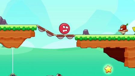 《红球闯关》小红球来到神秘森林,这里面有秘密