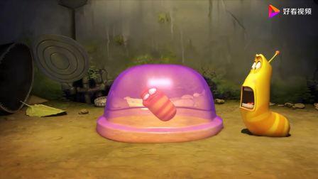 爆笑虫子:小红被困在布丁里,小黄为了救小红,吃了很多布丁