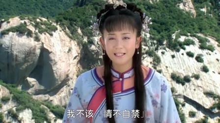 新还珠格格:紫薇想要逃离尔康,不慎掉落山崖