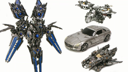变形金刚电影 2 3 Deluxe Soundwave Laserbeak Ravage Robot 车辆玩具