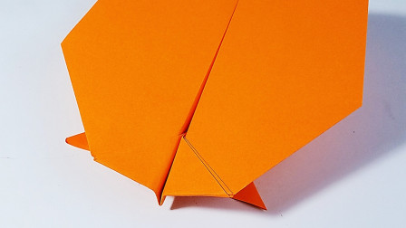 折纸掠行者飞机,能飞很久的纸飞机