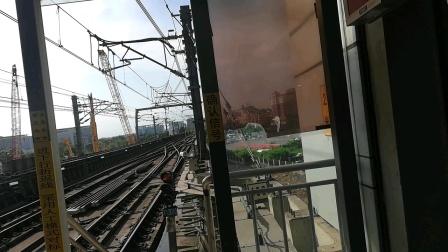 深圳地铁1号线胡萝卜二世编号176在机场东站手动折返