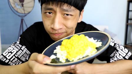 用鸡蛋就能做出螃蟹?帅小伙跟黄磊老师学做赛螃蟹,真的好吃吗?