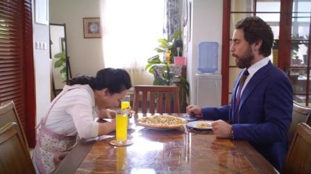 老妈的桃花运:香香给瑞尼做披萨,但是这个味道就不好说了