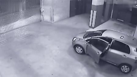 被自己的车结束生命,要不是监控,都不知他经历了什么
