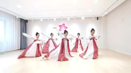 古典舞蹈惊鸿一面,太美了完全没有抵抗力