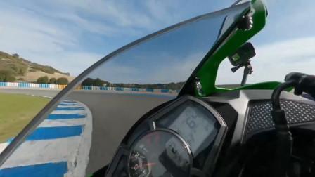 表底2万转极速184公里,川崎ZX-25R Rea赫雷兹赛道试车