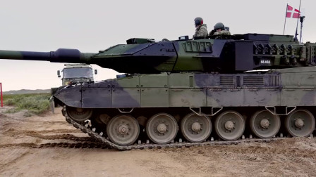 德国豹式主战坦克Leopard_2A7日常训练