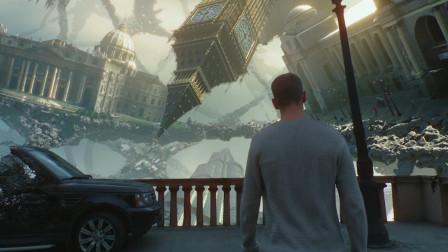 科幻片,男子一觉醒来天地颠倒,而且还出现了一种可怕怪物