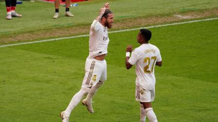 皇马夺得西甲冠军的绝对功臣,拉莫斯本赛季最新高光集锦
