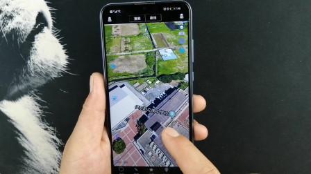 教你打开手机卫星地图,村里每一间房屋,你家的院子汽车都能看到
