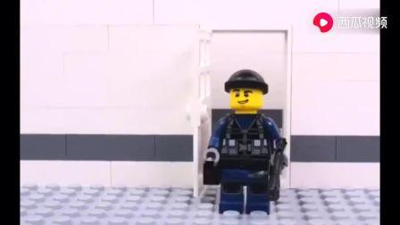 乐高城市:斯瓦特人质救援,冷静的头冷,敏捷的身手,高级特工!