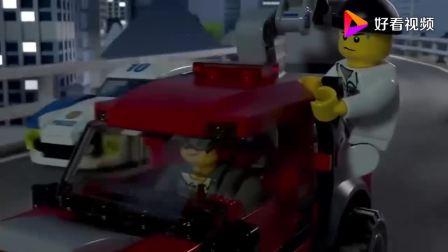 乐高城市视频:空中消防队动画片视频,紧张有趣,越看越想看