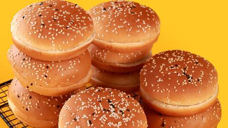早餐面包不用出去买了,教你在家做,香甜松软,暄软又拉丝真好吃