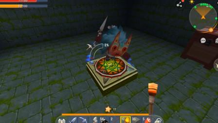 迷你世界冒险二:矿洞遇商人获得能量剑