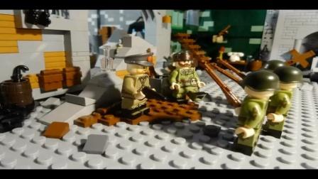 国外大神二战大作!战争如此残酷,乐高定格动画短片。