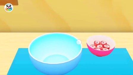 给顾客制作草莓慕斯蛋糕 宝宝巴士游戏