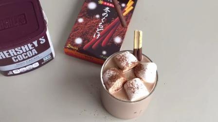 冬日热饮「棉花糖热摩卡」宅在家做一杯吧