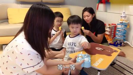 香港人的生活:孩子要吃雪糕,巧手主妇自制芒果酸奶雪糕给家人吃