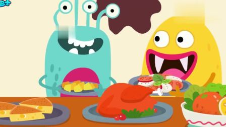 宝宝巴士少儿动画片:我爱洗手,养成爱洗手的好习惯,远离细菌